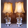 комплект настолни лампи 6436